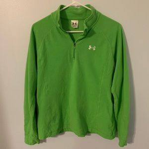 Under Armour green women's size large pullover